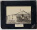 Pioneer School portrait, with teacher and students, Walhalla, N.D.