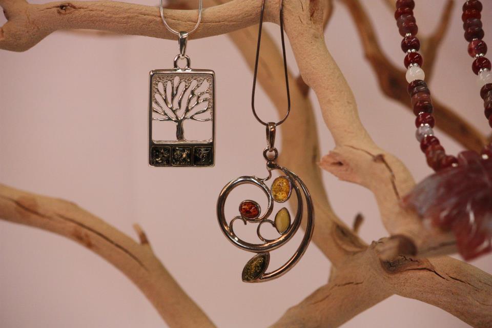 Museum store necklaces
