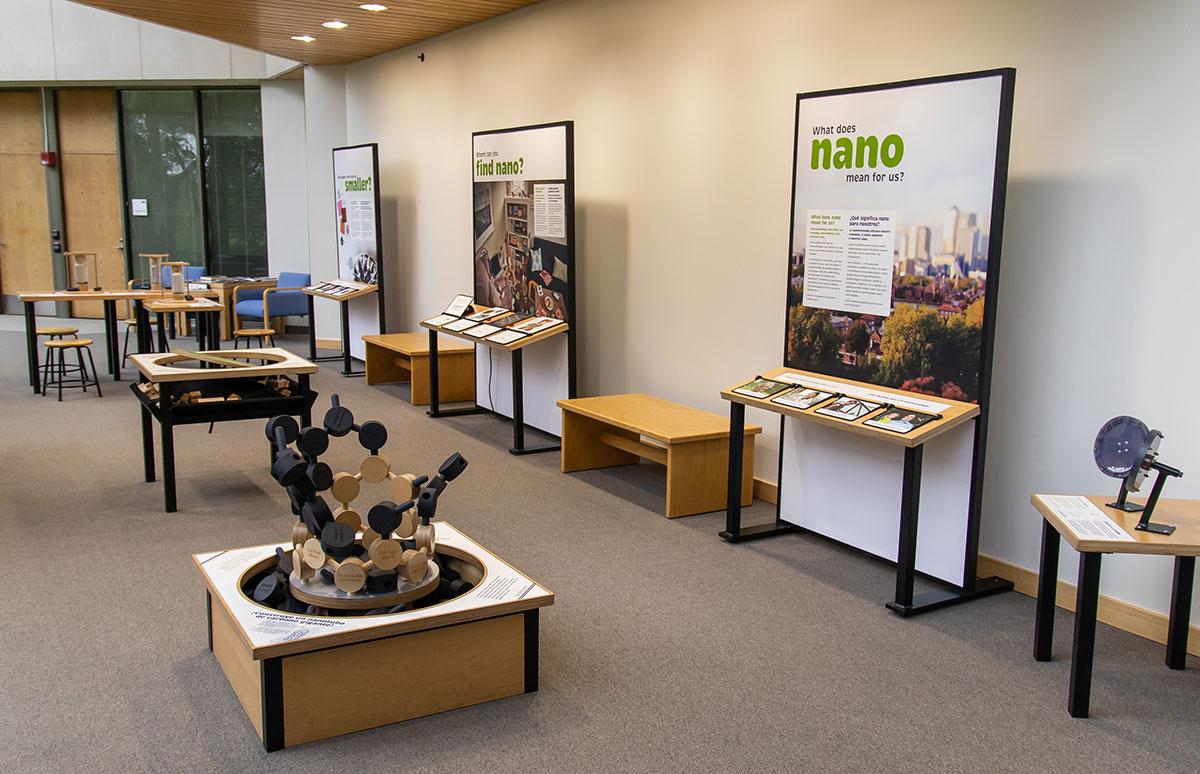 Nano exhibit