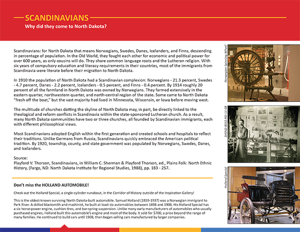 Scandinavians flyer cover