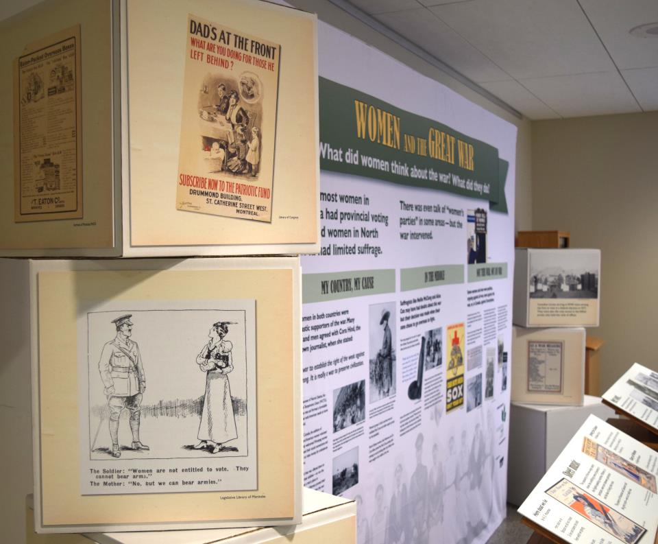 Women and the Great War exhibit
