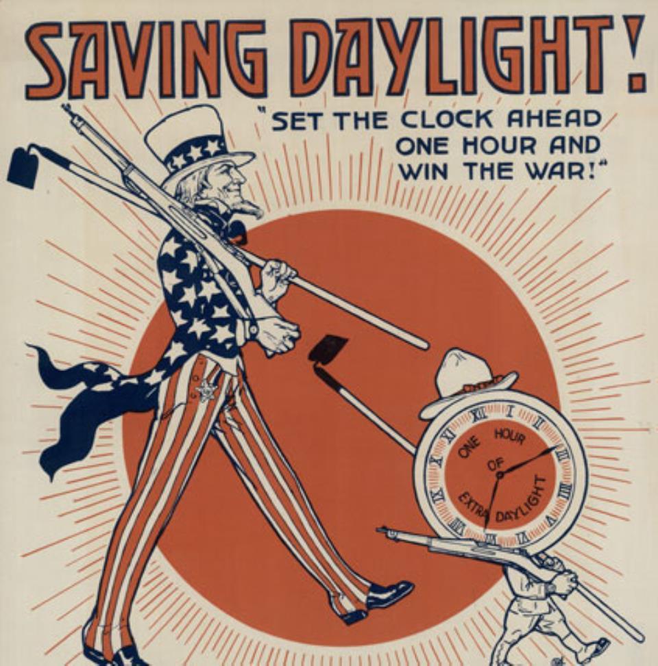 Saving Daylight WWI Poster